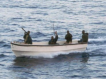 Somali Pirates, the subject of one the first three international crises foreseen starting in March for the new US president in 2009.