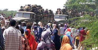 ethiopians enter