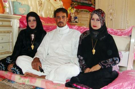 Iraqi man married two momen