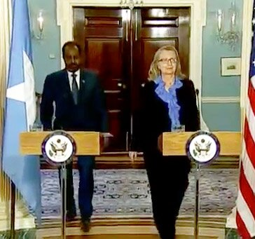 hillary clinton and hassan sheikh