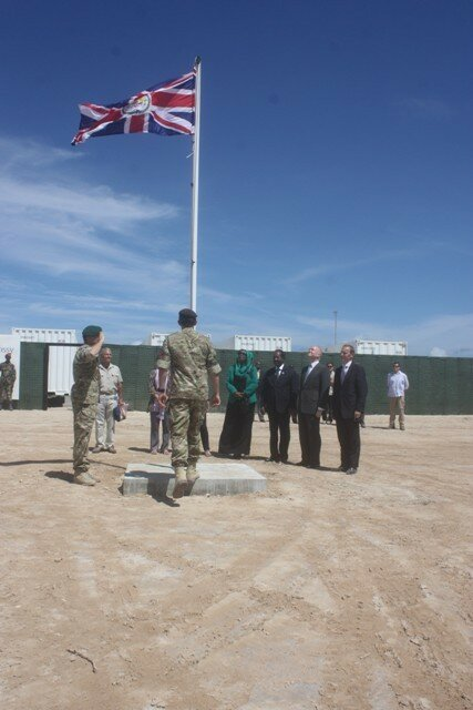 Britain Flag in Mogadishu