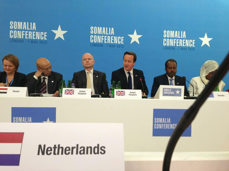 Somalia conference at Lancaster House