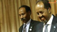 Hassan Sheikh arrives