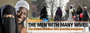 British Muslims who practise polygamy
