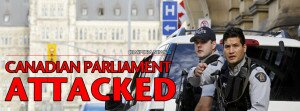 CANADIAN PARLIAMENT ATTACKED