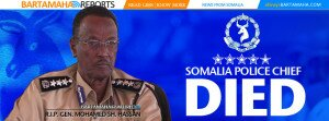 Mohamed Sh. Hassan Somali Police Chief