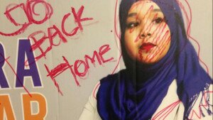 Somali-Canadian council candidate faces racist graffiti