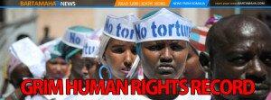 Somalia REVERSE THE GRIM HUMAN RIGHTS RECORD