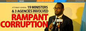 Somalia rampant corruption