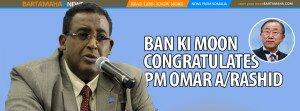 BAN KI MOON SOMALIA PM