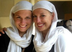 Ava Ramberg and Kelly Heller helped shape a boarding school in Somalia. (Courtesy photo)