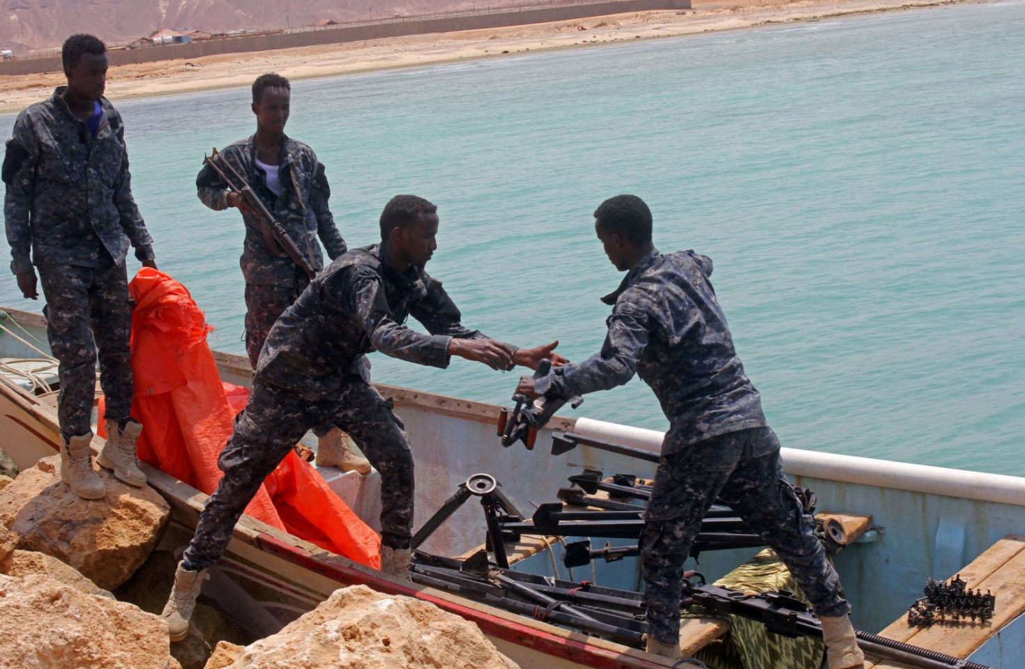 Somalia's Puntland region captures weapons-laden boat from Yemen